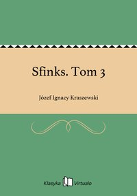 Sfinks. Tom 3