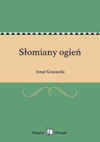 Słomiany ogień - Artur Gruszecki - ebook
