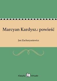Marcyan Kardysz.: powieść
