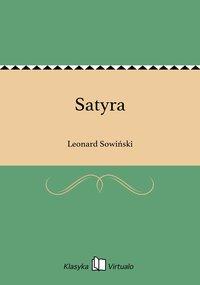 Satyra - Leonard Sowiński - ebook