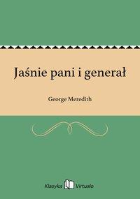 Jaśnie pani i generał - George Meredith - ebook