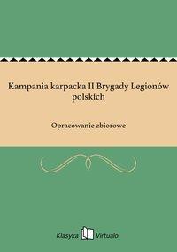 Kampania karpacka II Brygady Legionów polskich
