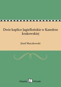 Dwie kaplice Jagiellońskie w Katedrze krakowskiej - Józef Muczkowski - ebook