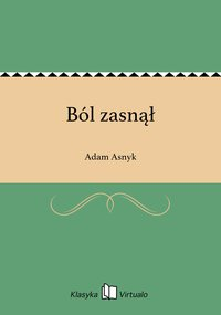 Ból zasnął - Adam Asnyk - ebook