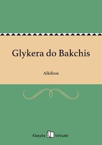 Glykera do Bakchis