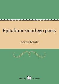 Epitafium zmarłego poety
