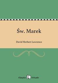 Św. Marek - David Herbert Lawrence - ebook