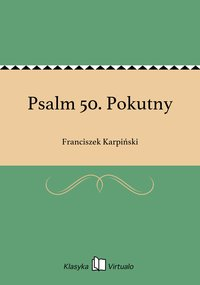 Psalm 50. Pokutny
