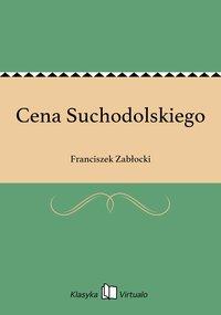 Cena Suchodolskiego - Franciszek Zabłocki - ebook