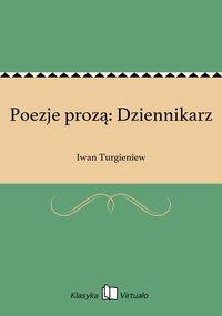 Poezje prozą: Dziennikarz