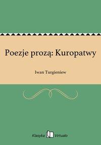 Poezje prozą: Kuropatwy