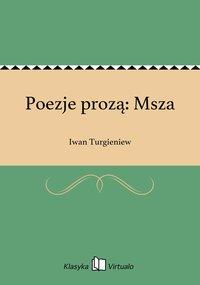 Poezje prozą: Msza