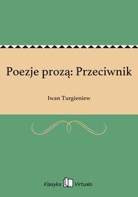 Poezje prozą: Przeciwnik