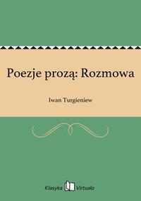 Poezje prozą: Rozmowa