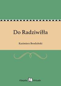 Do Radziwiłła