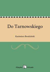 Do Tarnowskiego