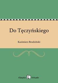 Do Tęczyńskiego