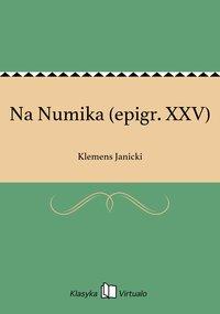 Na Numika (epigr. XXV)