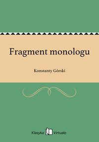Fragment monologu