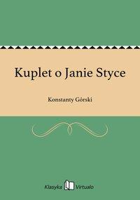 Kuplet o Janie Styce