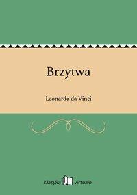 Brzytwa - Leonardo da Vinci - ebook