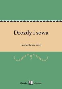 Drozdy i sowa - Leonardo da Vinci - ebook