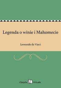 Legenda o winie i Mahomecie