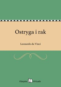 Ostryga i rak - Leonardo da Vinci - ebook