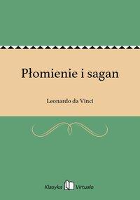 Płomienie i sagan - Leonardo da Vinci - ebook