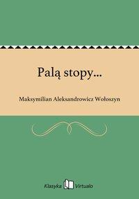 Palą stopy... - Maksymilian Aleksandrowicz Wołoszyn - ebook