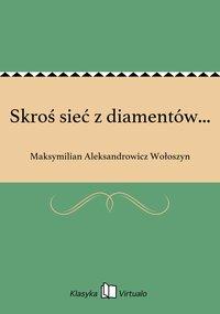 Skroś sieć z diamentów... - Maksymilian Aleksandrowicz Wołoszyn - ebook