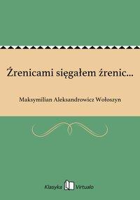 Źrenicami sięgałem źrenic... - Maksymilian Aleksandrowicz Wołoszyn - ebook