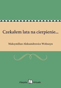 Czekałem lata na cierpienie... - Maksymilian Aleksandrowicz Wołoszyn - ebook