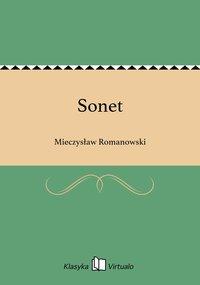 Sonet - Mieczysław Romanowski - ebook