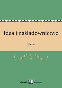 Idea i naśladownictwo - Platon - ebook