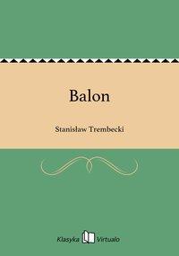 Balon - Stanisław Trembecki - ebook