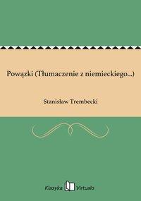 Powązki (Tłumaczenie z niemieckiego...) - Stanisław Trembecki - ebook