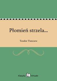Płomień strzela... - Teodor Tiutczew - ebook