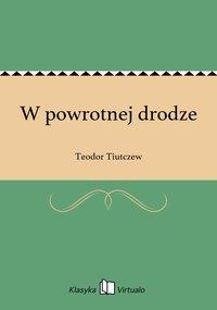 W powrotnej drodze - Teodor Tiutczew - ebook