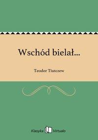 Wschód bielał... - Teodor Tiutczew - ebook