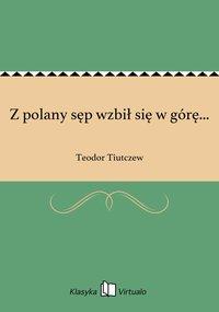 Z polany sęp wzbił się w górę... - Teodor Tiutczew - ebook