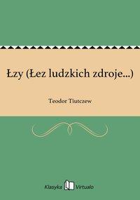 Łzy (Łez ludzkich zdroje...) - Teodor Tiutczew - ebook