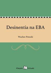 Desinentia na EBA