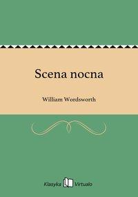 Scena nocna - William Wordsworth - ebook