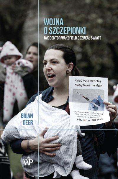 Okładka książki Wojna o szczepionki